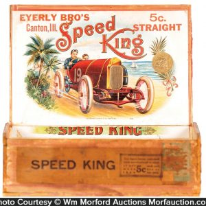 Speed King Cigar Box