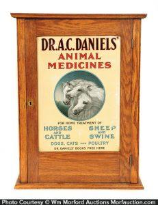 Dr. Daniels Animal Medicines Veterinary Cabinet