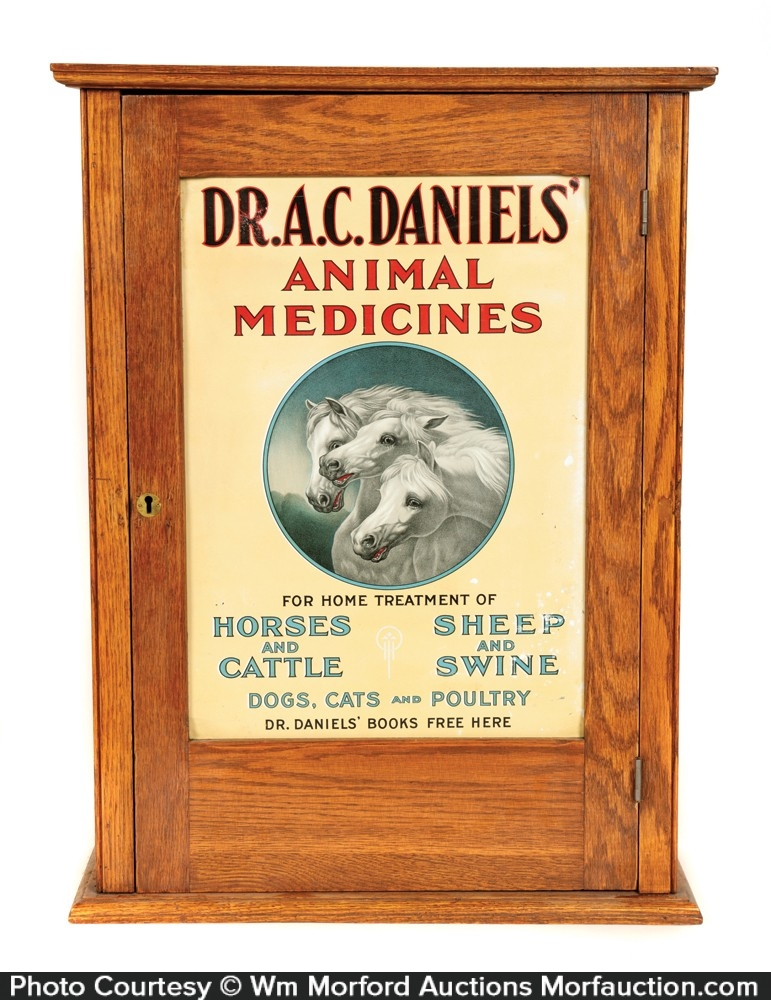 Dr. Daniels Animal Medicines Veterinary Cabinet