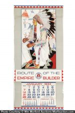 Great Northern Railroad Calendar
