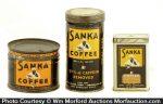 Sanka Coffee Can Samples