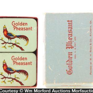 Golden Pheasant Condom Tins