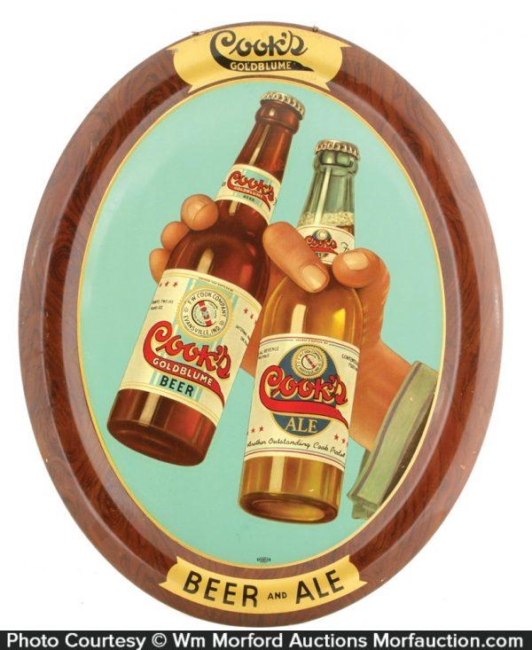 Cook's Beer Sign