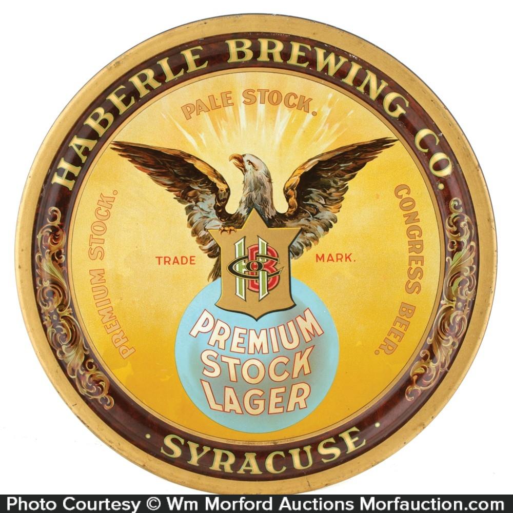Haberle Brewing Company Tray