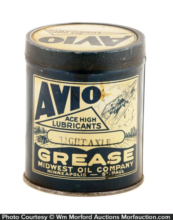 Avio Grease Can