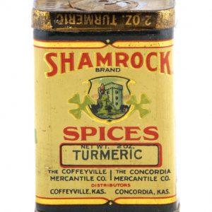 Shamrock Spice Tin