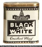 Black & White Tobacco Tin
