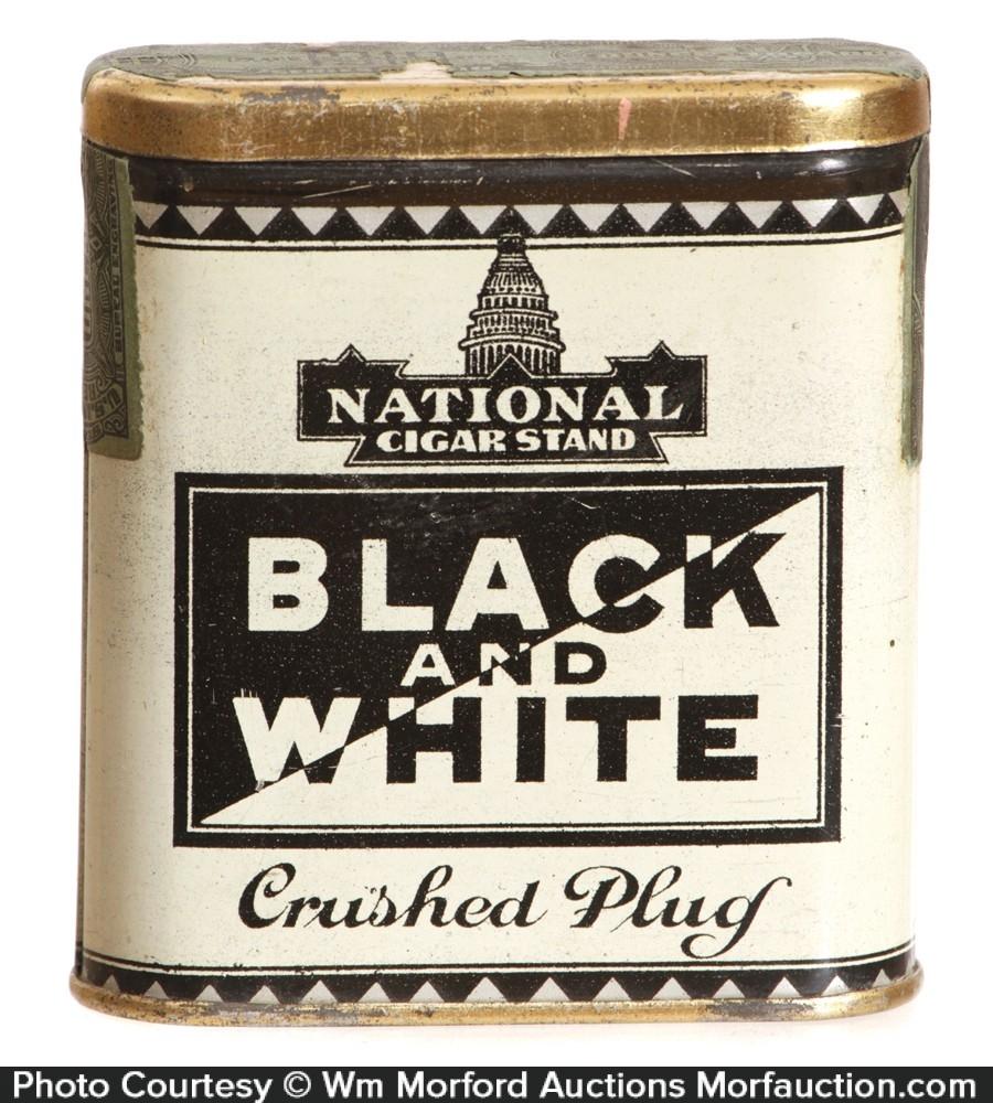 Black & White Tobacco Tin