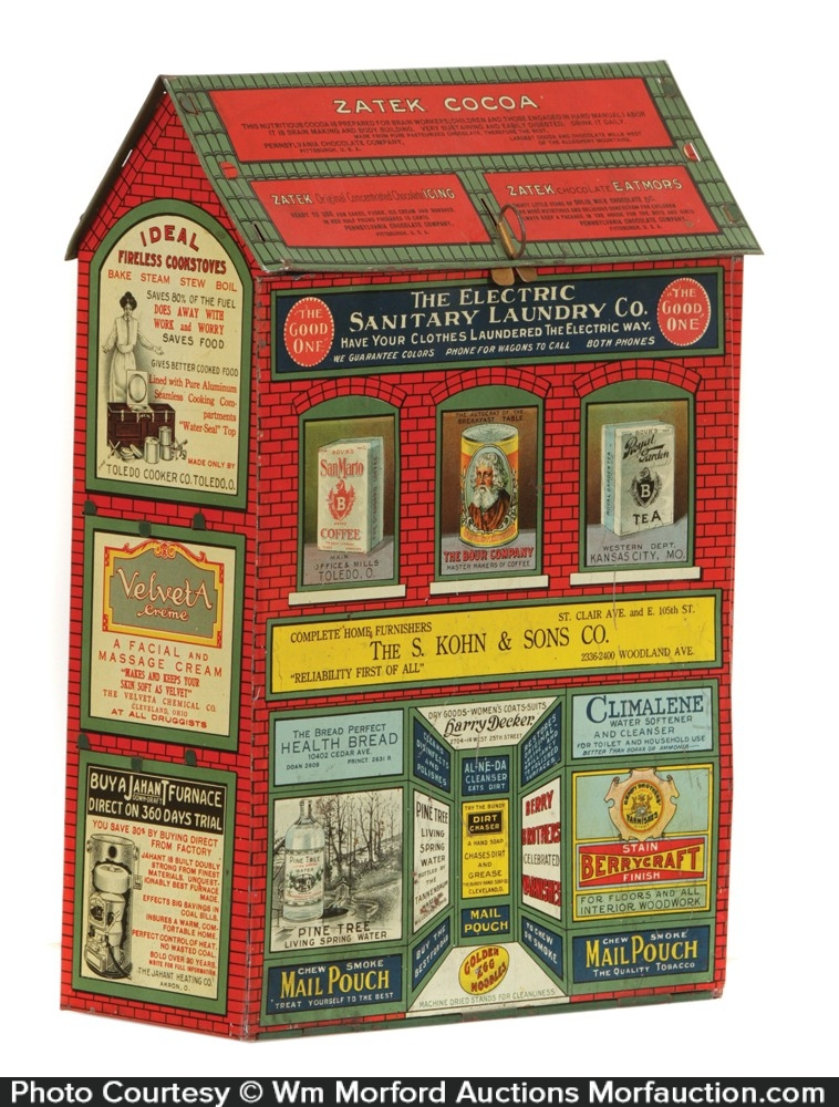Promotional Store Tin