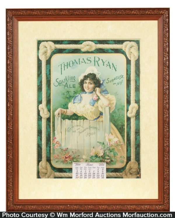 Thomas Ryan Brewery Calendar
