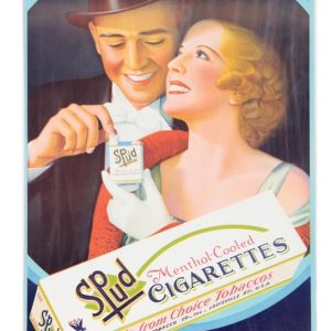 Spud Cigarettes Sign
