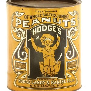 Hodges Peanut Tin