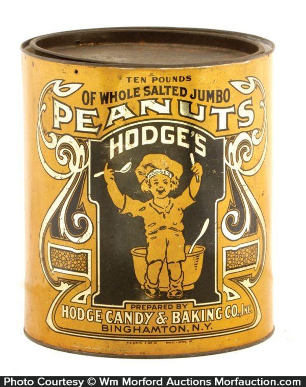 Hodges Peanut Tin