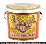 1901 Christmas Candy Pail