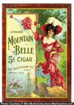 Mountain Belle Cigars Sign