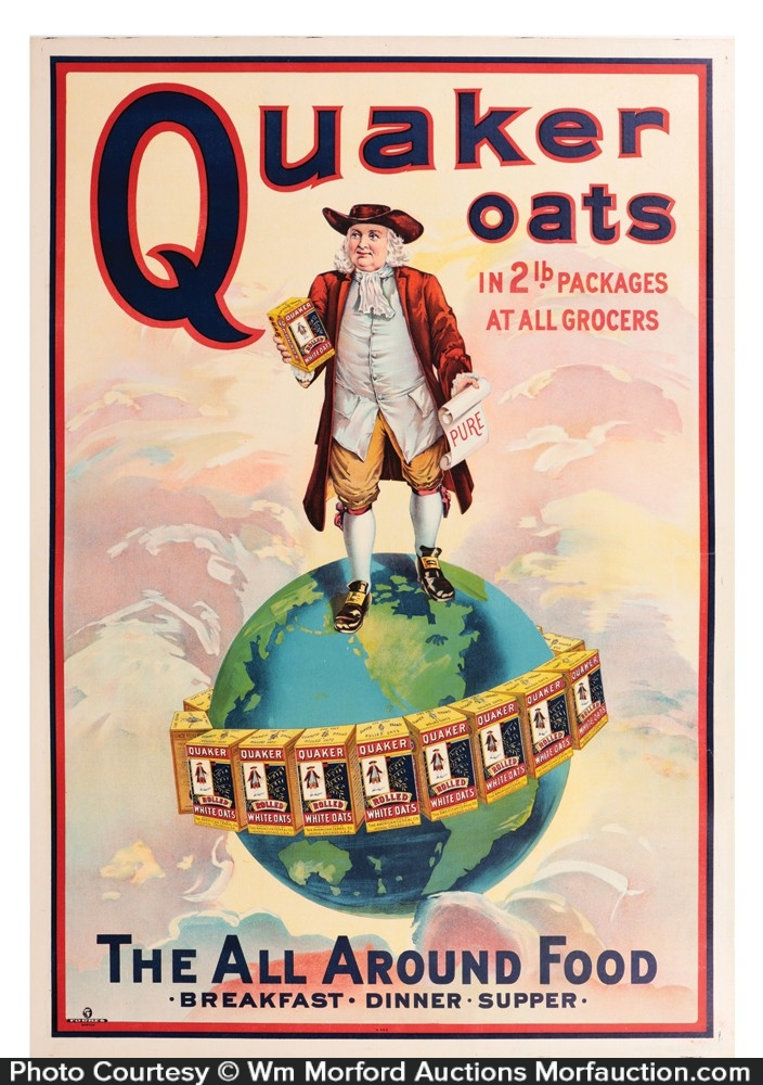 Quaker Oats Poster