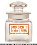Borden's Malted Milk Jar