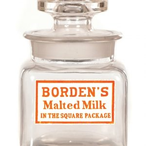Borden's Malted Milk Jar