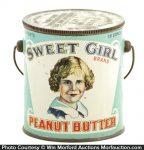 Sweet Girl Peanut Butter Pail