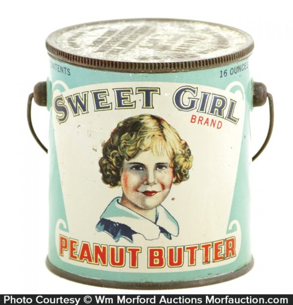 Sweet Girl Peanut Butter Pail