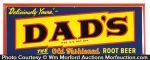 Dad's Root Beer Sign