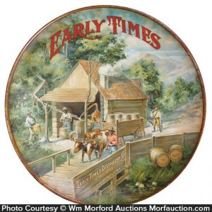 Early Times Whiskey Sign