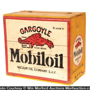 Gargoyle Mobiloil Bottle Case