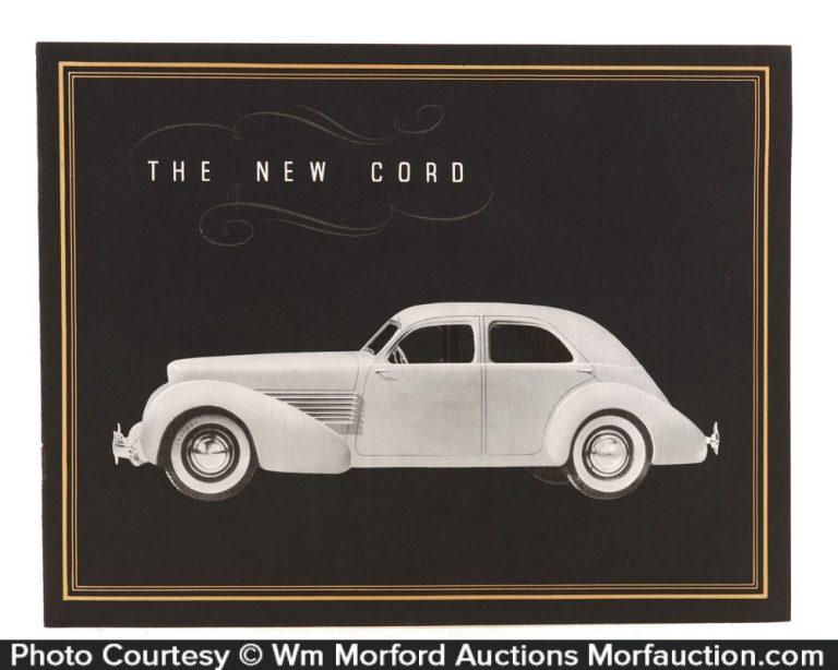 1935 Cord Automobiles Catalog
