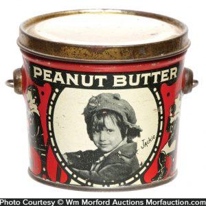 Jackie Coogan Peanut Butter Tin
