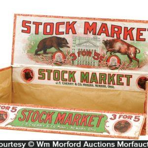 Stock Market Cigar Box