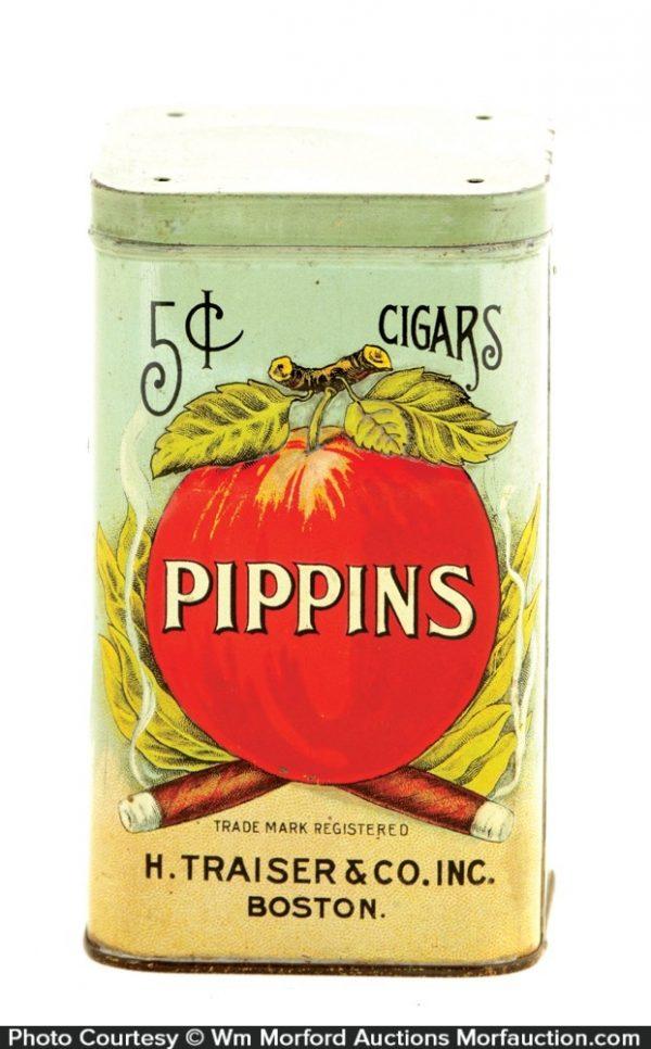 Pippins Cigar Tin