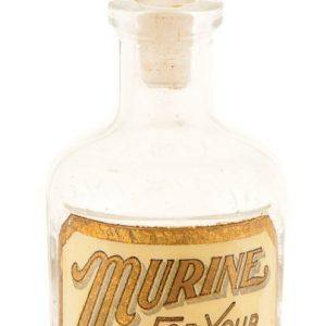 Murine Glass Label Bottle