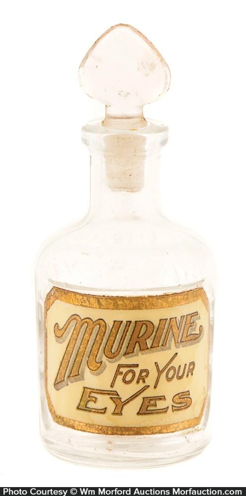 Murine Glass Label Bottle