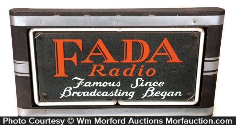 Fada Radios Neon Sign