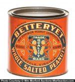 Betteryet Peanuts Tin