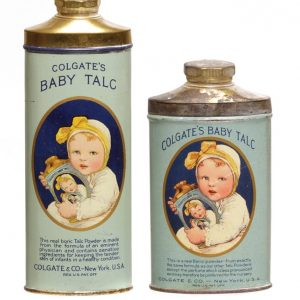 Colgate Baby Talc Tins