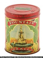 Fountain Tobacco Tin