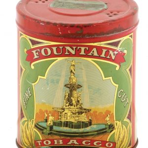 Fountain Tobacco Tin