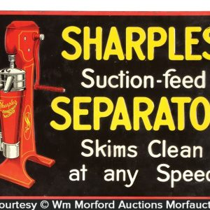 Sharples Separator Sign
