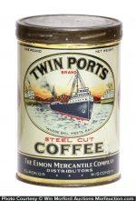 Twin Ports Coffee Can