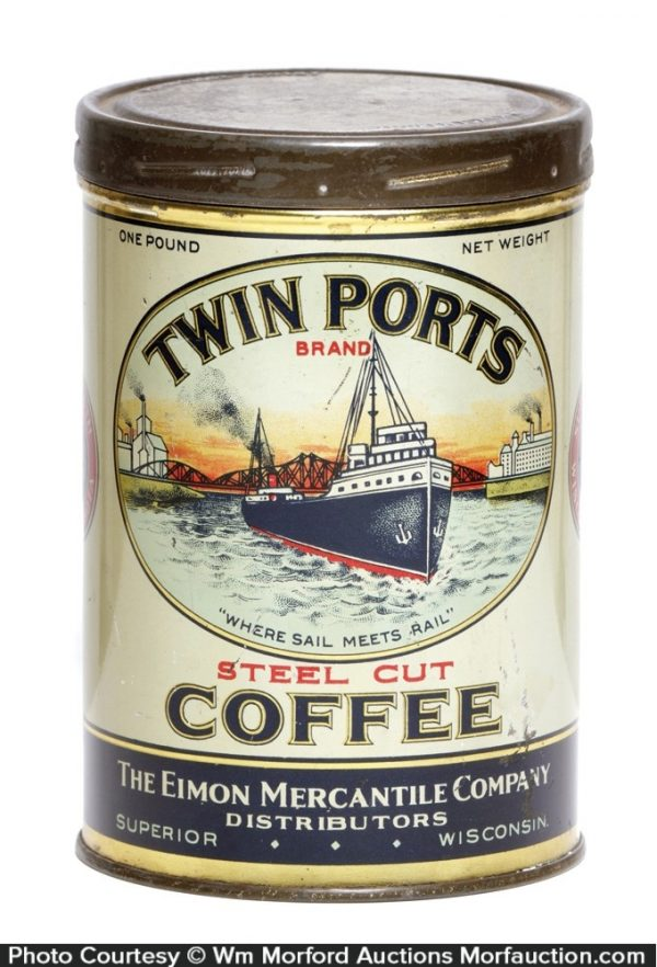 Twin Ports Coffee Can