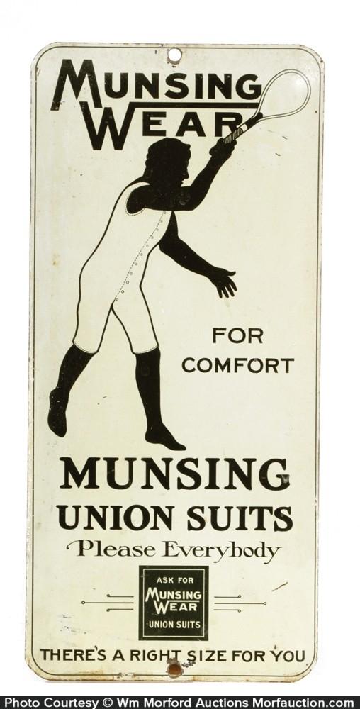 Munsing Wear Door Push