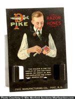 Pike Razor Hones Display