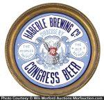 Porcelain Congress Beer Tray