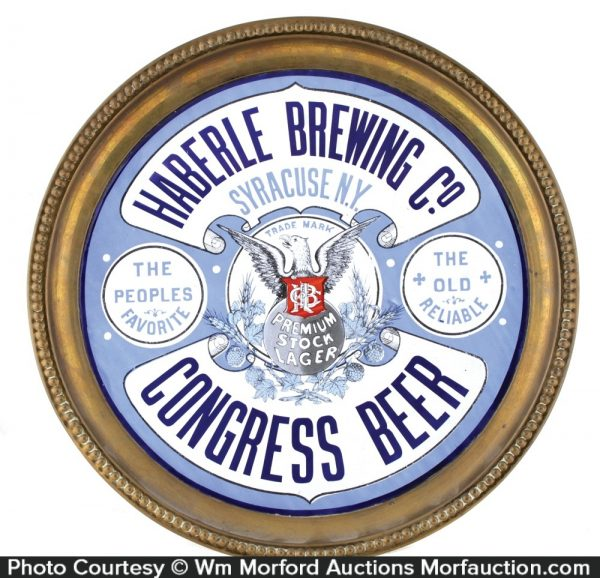 Porcelain Congress Beer Tray