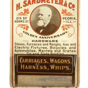 H. Sandmeyer Match Holder