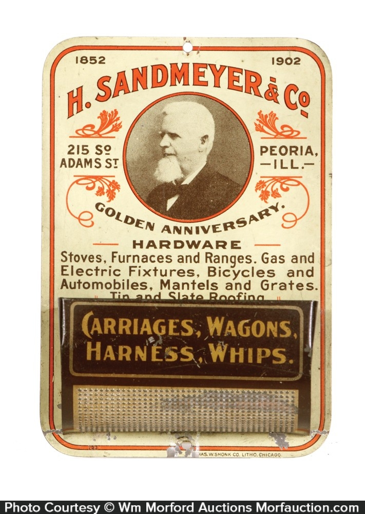 H. Sandmeyer Match Holder