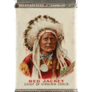Red Jacket Coal Match Safe