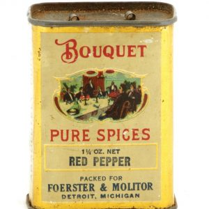 Bouquet Spice Tin