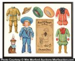 Buster Brown Paper Doll Set